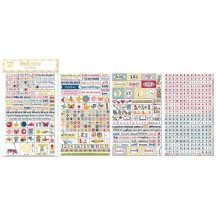 Bo Bunny Play Time Clear Stickers 12802465