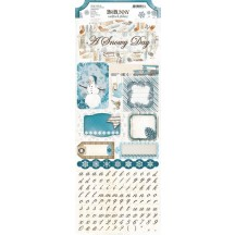 Bo Bunny Woodland Winter Cardstock Stickers 15502136