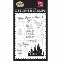 Echo Park Witches & Wizards 2 Believe in Magic Clear Stamp Set WIW247043