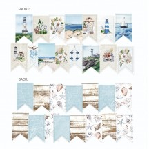P13 Beyond the Sea Garland Die-Cut Cardstock P13-SEA-32