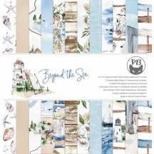 "P13 Beyond the Sea 12""x12"" Scrapbook Paper Pad P13-SEA-08"