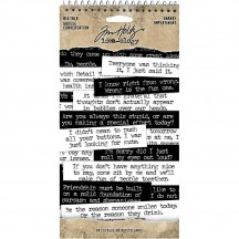 Tim Holtz Idea-ology Big Talk Snarky Phrase Stickers TH93797
