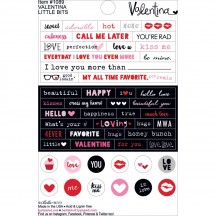"Bella Blvd Valentina 4""x6"" Little Bits Stickers 1089"