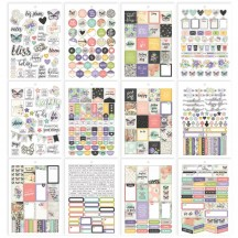 Simple Stories Bliss A5 Planner Sticker Tablet 7967