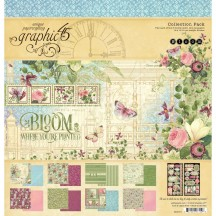 "Graphic 45 Bloom 12""x12"" Collection Pack 4501871"