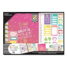 Me & My Big Ideas CLASSIC Undated Happy Planner 12 Month Box Kit Budget BOX188