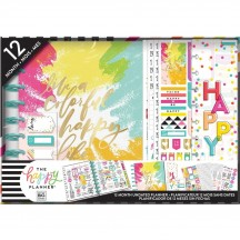 Me & My Big Ideas CLASSIC Undated Happy Planner 12 Month Box Kit Colorful Happy BOX186