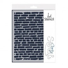 "Clarity Stencils Brick Wall  9""x11"" Stencil Mask 91100020"