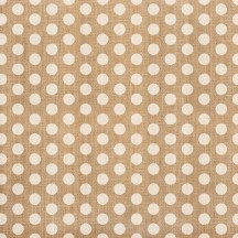 "Crate Paper Craft Market White Polka Dot 12""x12"" Specialty Burlap Sheet 683648"