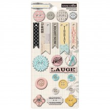 Teresa Collins Summer Stories Decorative Buttons SUM118
