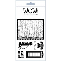 WOW! Clear Stamps - Call Me - STAMPSET3