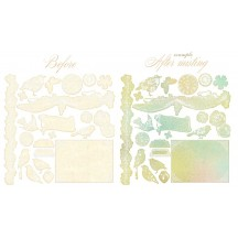 Prima Resist Canvas Shapes - Pixie Glen 551643