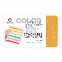 Prima Color Philosophy Carrot Orange Stackable Magnetic Dye Ink Pad 589479