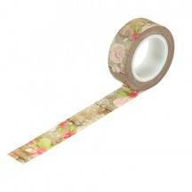 Carta Bella Farmhouse Market Farmhouse Floral Decorative Washi Tape FAR113027
