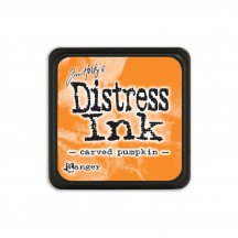 Ranger Tim Holtz Carved Pumpkin Mini Distress Ink Pad TDP47377 orange