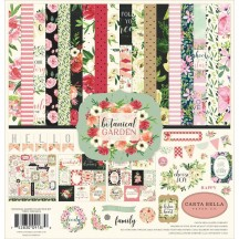 "Carta Bella Botanical Garden 12""x12"" Collection Kit BO98016"