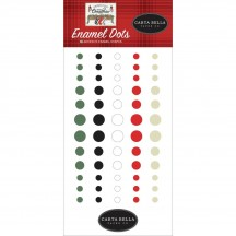 Carta Bella Farmhouse Christmas Enamel Dots CBFAC123028