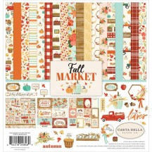 "Carta Bella Fall Market 12""x12"" Collection Kit AM105016"