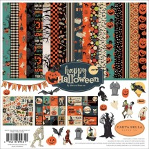 "Carta Bella Happy Halloween 12""x12"" Collection Kit AL104016"