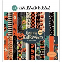 "Carta Bella Happy Halloween 6""x6"" Double-Sided Paper Pad AL104023"