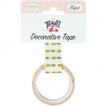 Carta Bella Let's Travel Pineapples Decorative Washi Tape LT100027