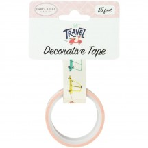Carta Bella Let's Travel Transportation Decorative Washi Tape LT100026