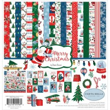 "Carta Bella Merry Christmas 12""x12"" Collection Kit MC107016"