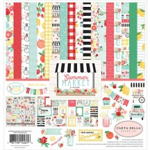 "Carta Bella Summer Market 12""x12"" Collection Kit SUM115016"