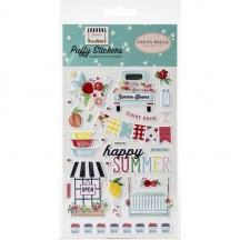 Carta Bella Summer Market Puffy Icon Stickers SUM115066