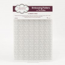 Creative Expressions Climbing Vines A4 Embossing Folder - EF-025 - Sue Wilson