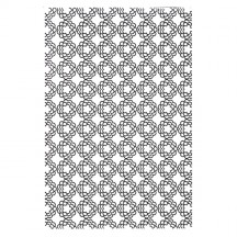 Creative Expressions Daisy Tiers A4 Embossing Folder EF-028