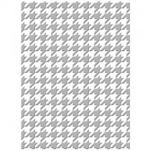 "Couture Creations Houndstooth 5""x7"" Universal Embossing Folder"