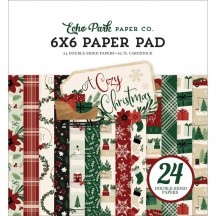 "Echo Park A Cozy Christmas 6""x6"" Double-Sided Paper Pad ACC189023"