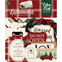 Echo Park A Cozy Christmas Ephemera Die Cut Cardstock Pieces ACC189024