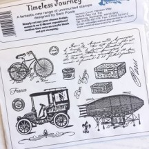 Creative Expressions U-Mount Rubber Stamps - Timeless Journey