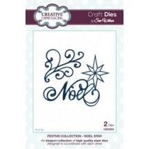 Creative Expressions Festive Collection - Noel Star Die by Sue Wilson CED3033