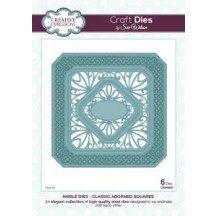 Creative Expressions Classic Adorned Squares Die Set by Sue Wilson - Noble Collection - CED5503