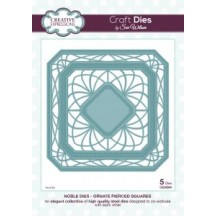 Creative Expressions Ornate Pierced Squares Die Set by Sue Wilson - Noble Collection - CED5504