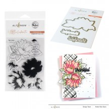 "Pinkfresh Studio & Altenew Celebrate Us 4""x6"" Clear Stamp & Die Set"