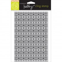 Hero Arts Clearly Kelly Cling Stamp - Kelly's Background Stars CG655