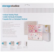 "Storage Studios 12""x12"" Paper Holder Vertical Variety Pack CH92604"