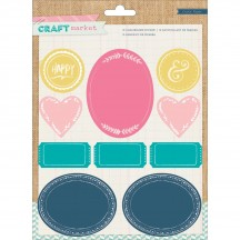 Crate Paper Craft Market Chalkboard Stickers 683659