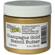 The Crafter's Workshop Champagne Gold Stencil Butter TCW9080