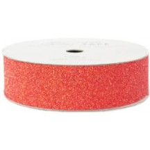 American Crafts Cherry Red Glitter Tape 22mm / 2.7m 96013