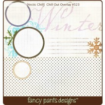 "Fancy Pants Chill Out Overlay 12"" x12"" Transparency Sheet - 523 - Christmas"