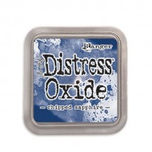 Ranger Tim Holtz Chipped Sapphire Distress Oxide Ink Pad TDO55884