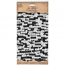 Tim Holtz Idea-ology Paper Word Stickers - ChitChat - TH92998