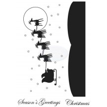 Personal Impressions Sleigh Ride Clear Stamps by Sarah Hurley - CICSA6099