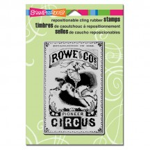 Stampendous Circus Poster Cling Stamp CRP181