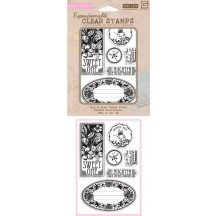 Hero Arts & Basic Grey Clear Stamp Set - Out of Print Sweet One CL536